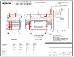 Ansul R102 Fire Suppression System Drawing